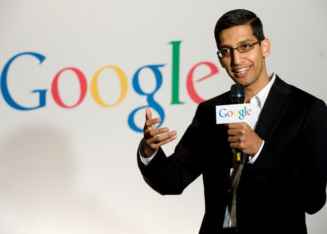 Indian American Google CEO Sundar Pichai Joins Alphabet Inc's Board of Directors