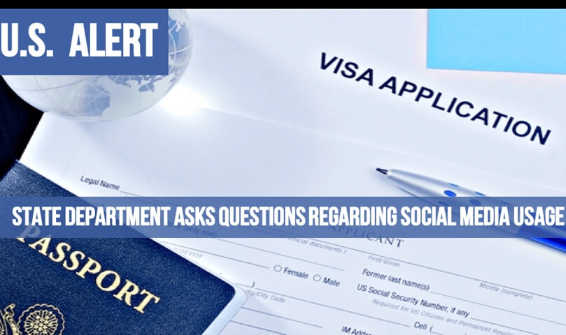 Know All about New Form DS-5535 for Additional Scrutiny of US Visa Applicants