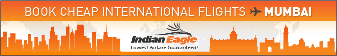 cheap flights to Mumbai, Indian Eagle travel deals, cheap air tickets Mumbai