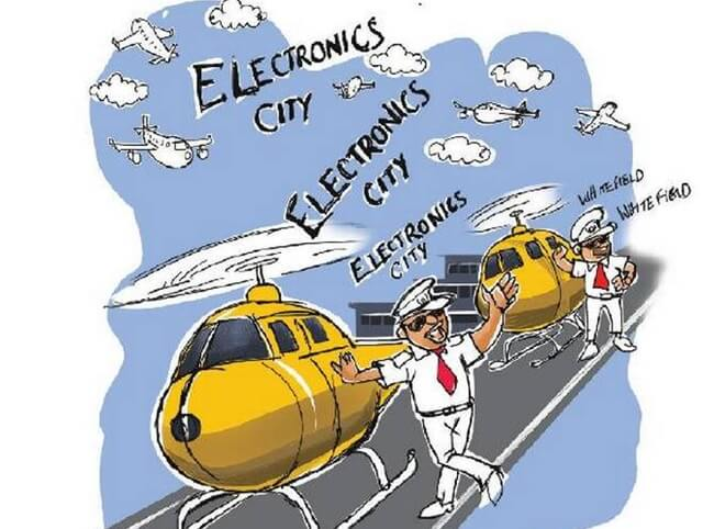 Helicopter-taxi Service to Make Travel between Bengaluru City and Kempegowda Airport a 15-m Magic
