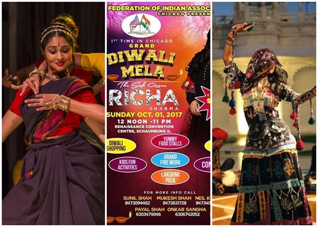 Chicago Indian events, Chicago Diwali Mela 2017, Dussehra in Chicago