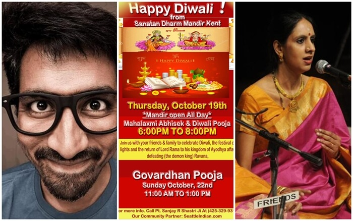Don't Miss These 10 Indian Events in Seattle Metropolitan Area in October 2017