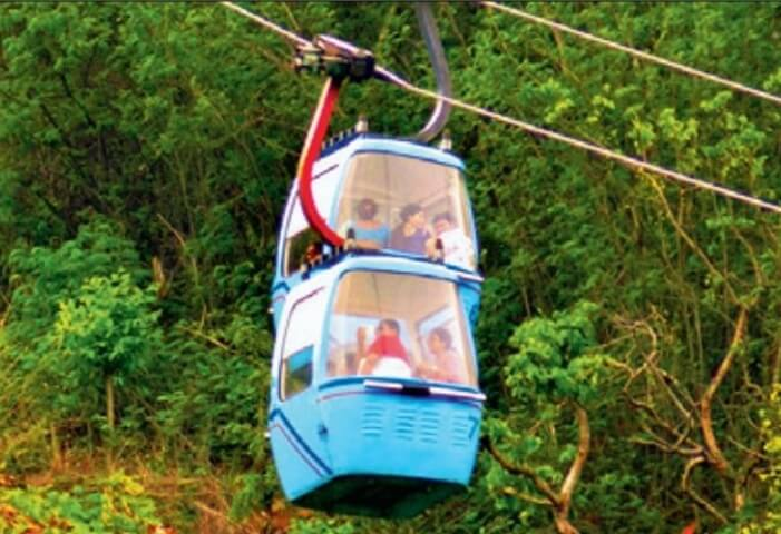 India to Get Longest Ropeway in Vizag for Thrilling Rides and Views over Bay of Bengal