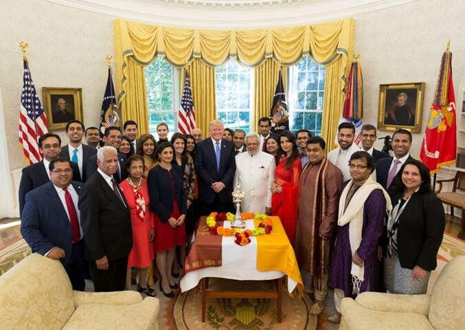 President Trump Celebrates Diwali at White House and Praises Indian Americans' Contributions to USA