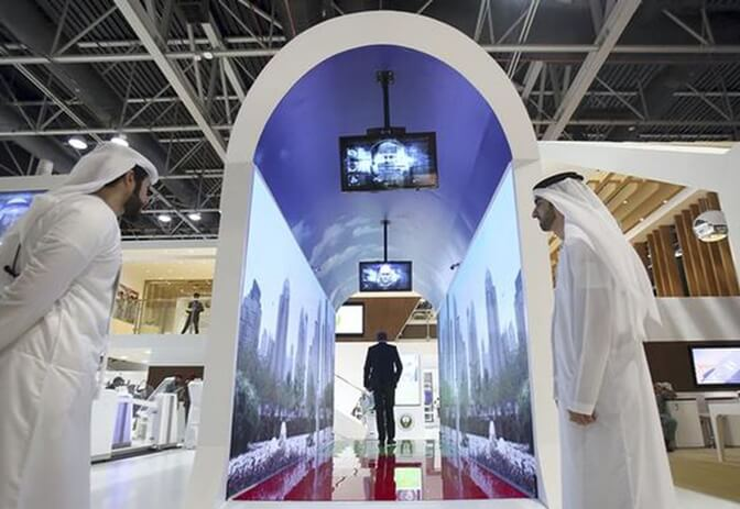 Dubai Airport Plans to Put Tunnels with Face-scanning Aquariums as Security Checkpoints for All