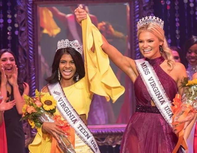 17-year-old Indian American Himanvi Panidepu Wins Miss Virginia Teen USA 2018 Title