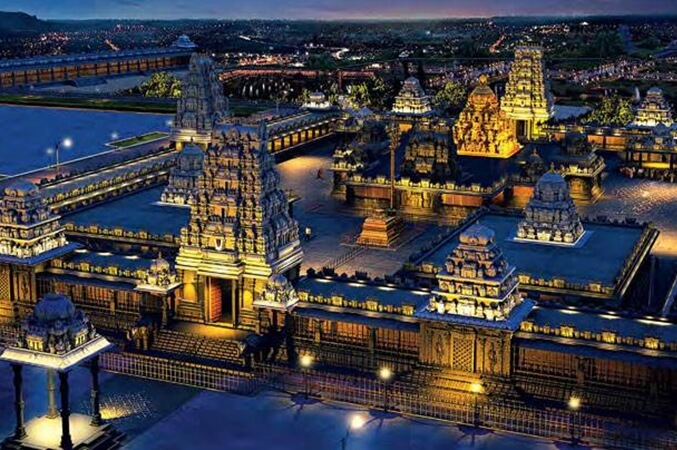 Upcoming 14-acre Yadadri Temple Complex on Hilltop near Hyderabad: Interesting Facts