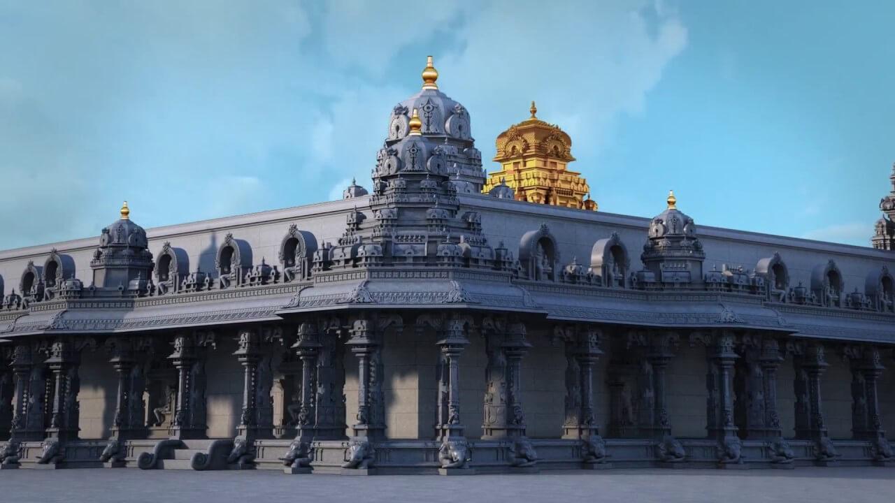 Yadadri Temple Complex, Yadagirigutta temple, Telangana Hindu temples