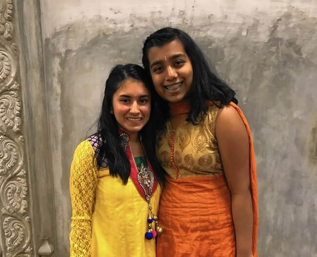 Two Indian American Girls Form Side by Side Smiles NGO for Children with Cleft Lips in India