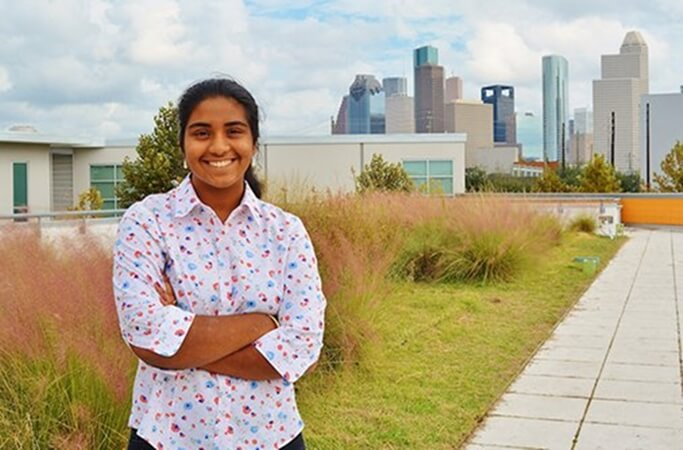 This Indian American Girl Becomes Houston's Youth Poet Laureate for Her Poem on Hurricane Harvey