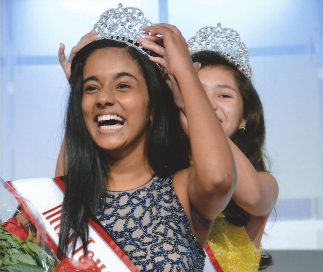 13-year-old Saanvi Sreejit to Represent Texas at National American Miss Pageant 2017