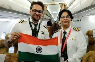 Air India's Woman Pilot Saves Hundreds of Lives Aboard from a Titanic Tragedy in Mid Air