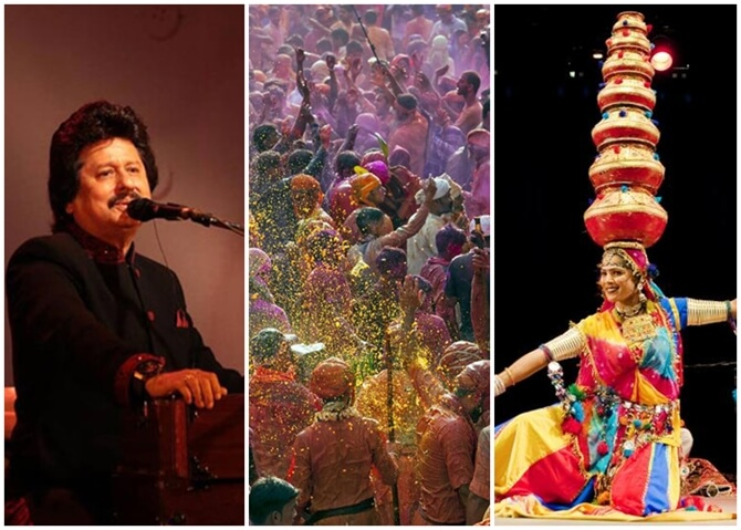 Dallas Indian Events in March 2018: Holi, Pankaj Udhas Concert, Art of Living, Chal Chitra Yatra