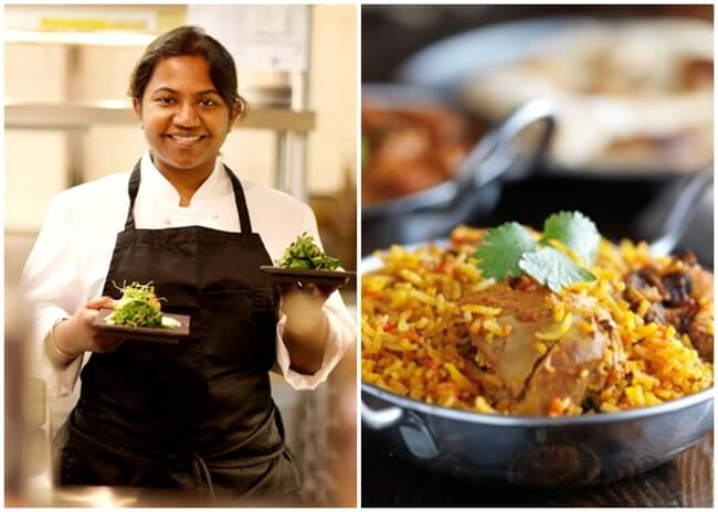 Chef Aarthi Sampath, Beat Bobby Flay Season 15, New York Indian restaurants, Chicken Biryani recipe