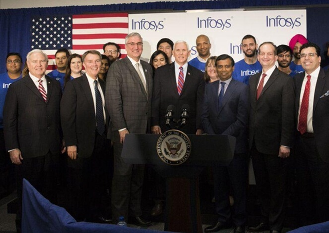 Infosys Plans to Open $245-million Education Center in USA and Hire 3000 American Workers