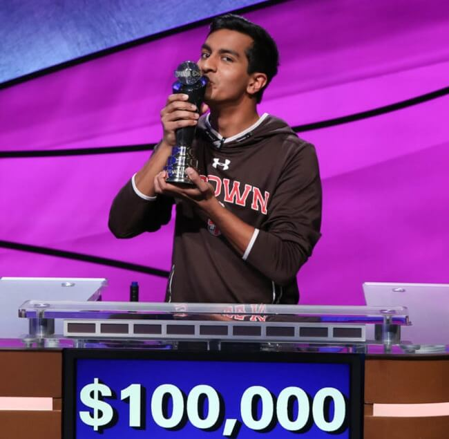 18-year-old Polymath Dhruv Gaur from Georgia Wins $100K in USA's Most Popular Quiz Show