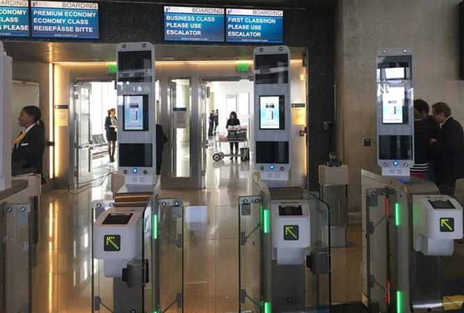 Lufthansa airline news, Lufthansa biometric boarding, US airports biometric