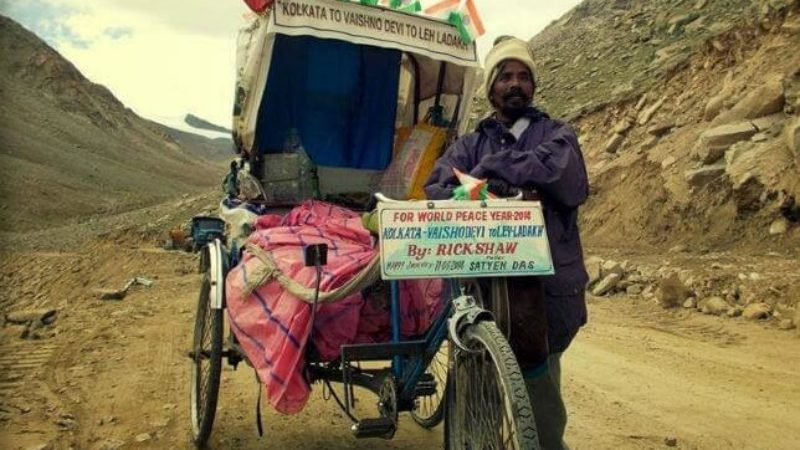 This Indian Rickshawala?s Documentary on His Rickshaw Journey to Ladakh Wins National Film Award