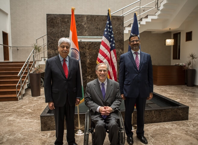 Indian Conglomerates, Wipro and JSW Group to Create Hundreds of Jobs for Local Talent in Texas
