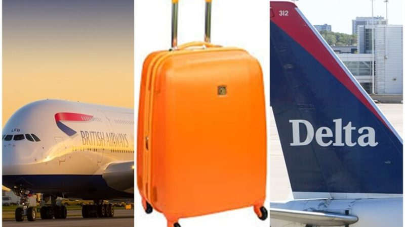 What are Hand-baggage Only Fares for British Airways and Delta Airlines Flights?