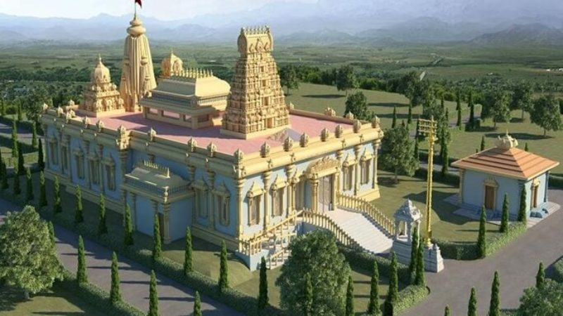 Details of Upcoming Temples in USA for Cultural Welfare of Coming Generations of Indian Americans