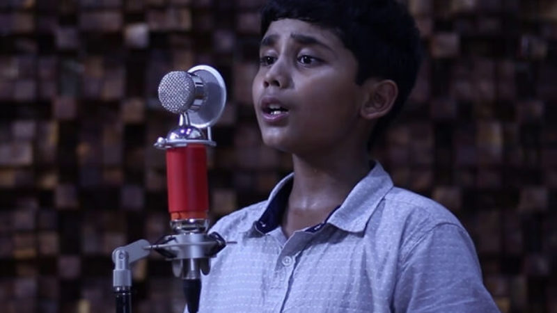 12-year-old Indian Boy Sings National Anthems of 215 Countries for a Greater Purpose