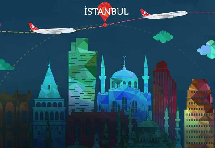 Free Istanbul City tour, Touristanbul, Turkish Airlines flights, US to India cheap flights