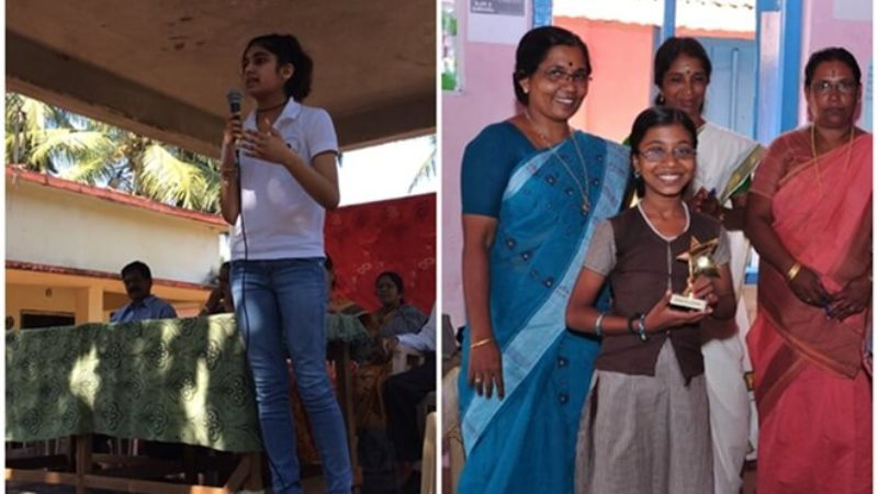 Indian American Sajni Vederey Raises $200,000 for STEM Education of 15000 girls in Rural India