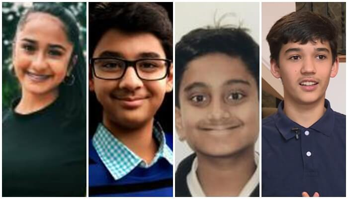 Five Indian American Students among Ten Finalists of America?s Top Young Scientist Title 2018