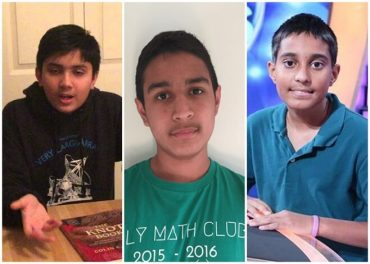 Three Indian American Teens Win Gold in International Olympiad Competitions: Physics, Math, History