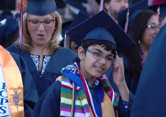 Tanishq Abraham child genius, Indian child prodigies, young Indian Americans, California University graduates, NRI news