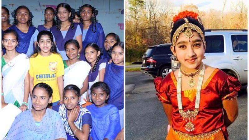 IndianAmerican Naisha Bellam is Good Samaritan for Poor Students and School Dropouts in Rural India