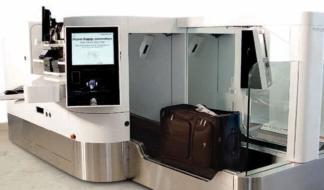 Bengaluru airport automated bag drop, automated baggage drop system