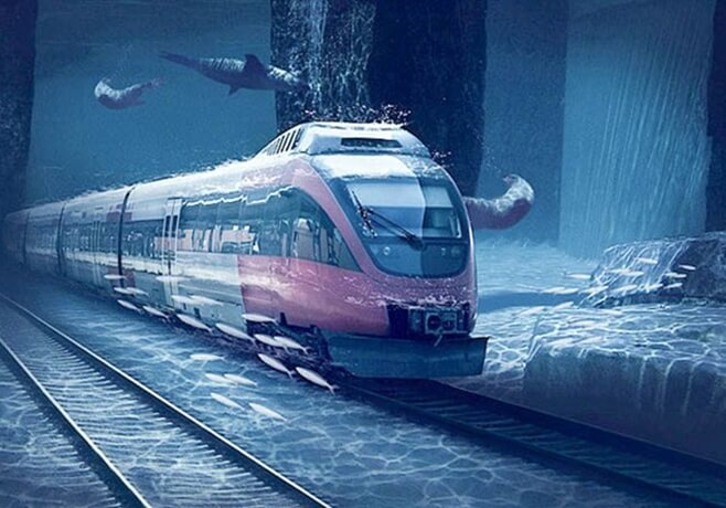 Proposed 2000-km Underwater, High-speed Rail from UAE to Mumbai Holds Some Good for Indians in USA
