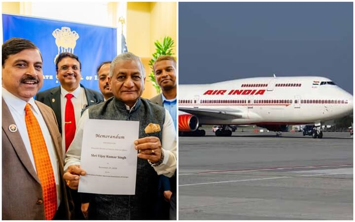 Indian American Associations of Georgia Push for Nonstop Air India Flights from Atlanta to India