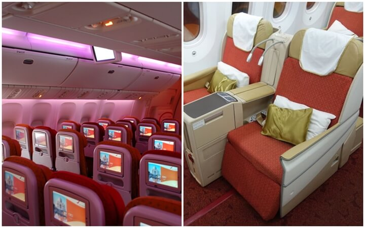 Air India Lets You Upgrade from Economy to Business for 75% Less than Actual Business Class Fare for Long Flights