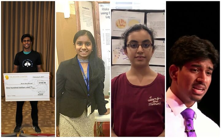 Indian American Teens Selected for Prudential Spirit of Community Awards for Outstanding Volunteer Service