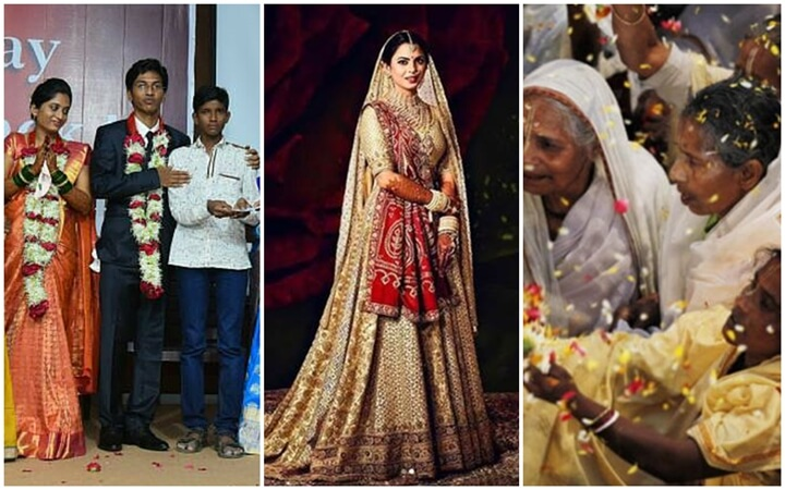 Unusual Indian Weddings with a Difference vs Multi-billion-dollar Ambani Family Weddings