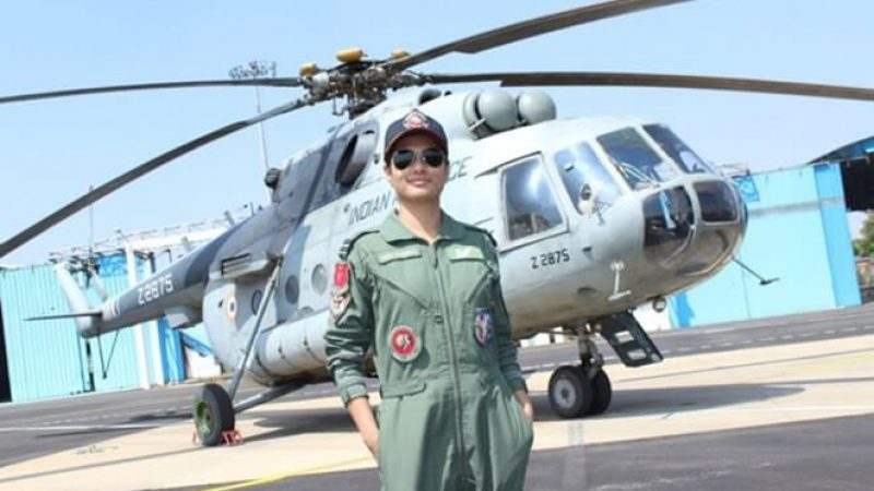Hina Jaiswal Becomes India's First Woman Flight Engineer for Indian Air Force's Helicopter Units