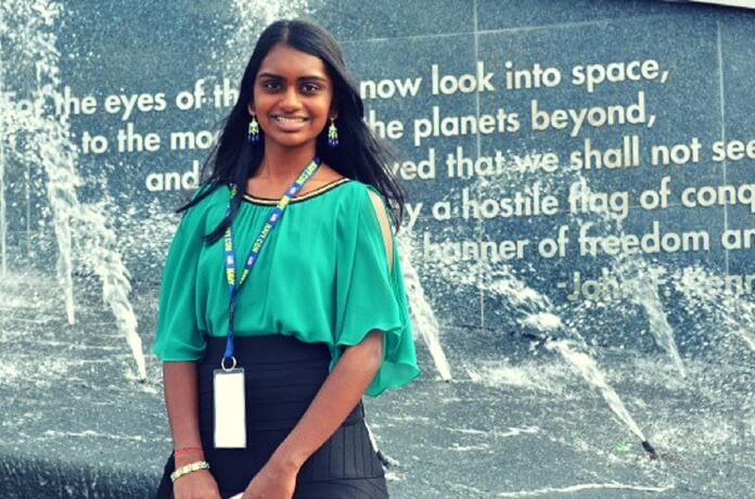 Kavya Kopparapu GlioVision, Kavya Kopparapu STEM award, Girls computing League founder, Indians in Virginia USA