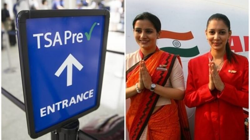 Is TSA Precheck Expedited Screening Available for Air India Flights from US Airports?