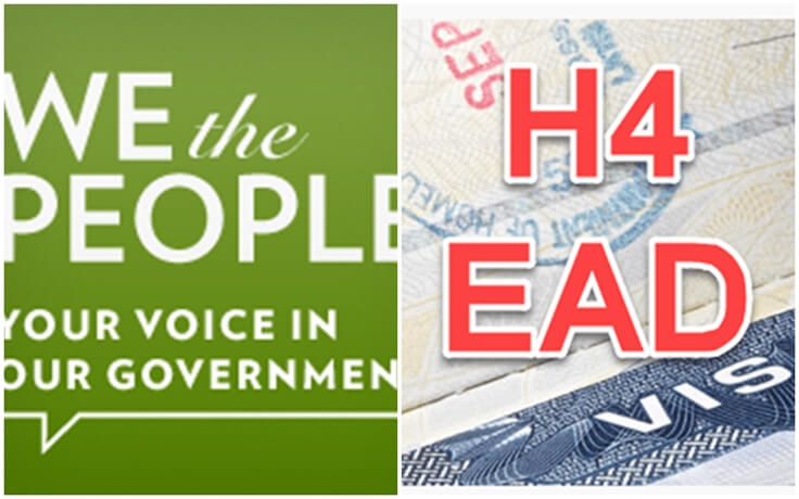 Petition Started on White House Website Seeks 100,000 Signatures to Save H4 EAD Policy