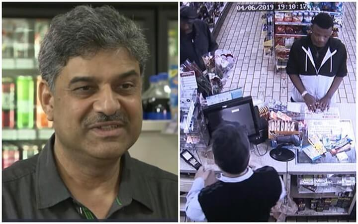 Indian American Storeowner Feeds Hungry Thief Instead of Punishing him for Stealing Food