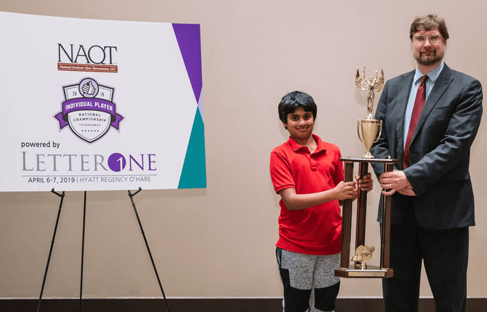 Indian American Kid Wins National Quiz Championship Beating 85 Contestants from across USA