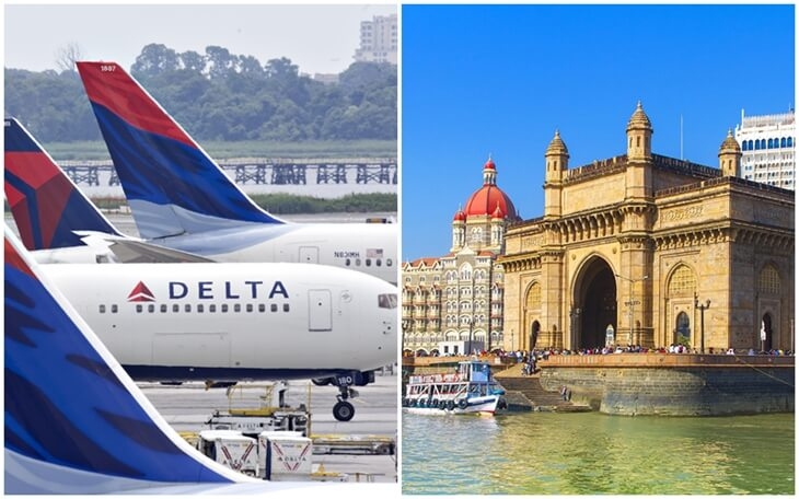 Delta Airlines Announces to Resume Nonstop Flights from New York to Mumbai in December 2019