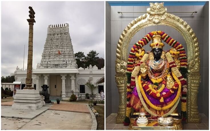 In Two Similar Robbery Cases, Thieves Steal Jewelry off Deities at Two Hindu Temples in USA