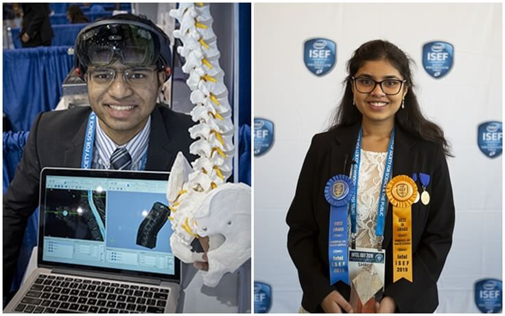 Two Indian Americans Win Intel Science & Engineering Fair for Cost-effective Medical Innovations