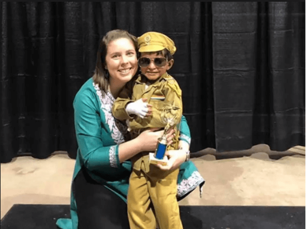 This 2-year-old Orphan Boy with Rare Skin Disease from Hyderabad Finds Home and Care in USA