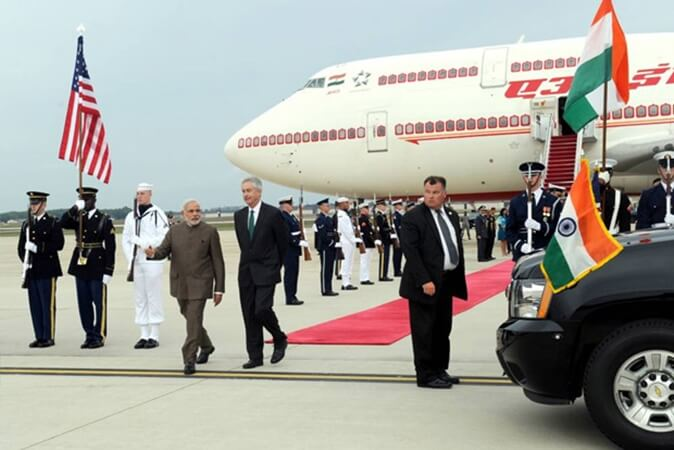 Sneak Peek into New Air India One B777 Jets: Indian PM's Flying Fortress for Foreign Travel Lands in Delhi