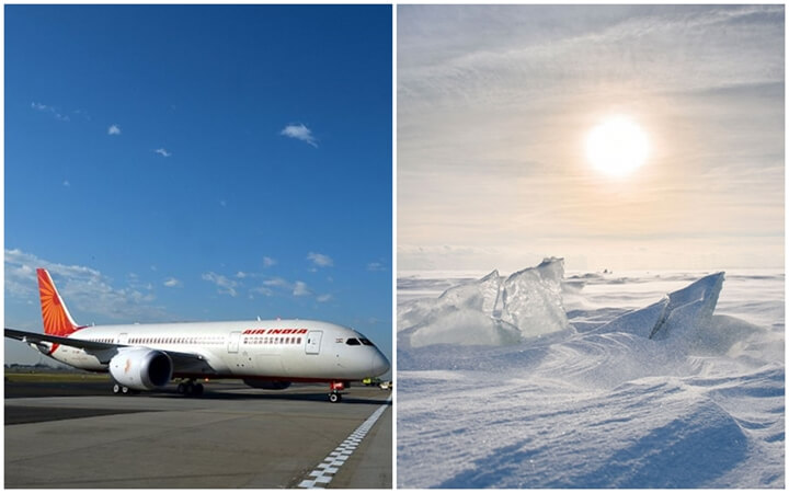 This Independence Day Air India to Make its First Flight over North Pole from Delhi to San Francisco